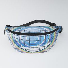 Dome Rainbow Skylight Architecture Glass Fanny Pack