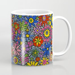 Mille Fleurs by Nettwork2Design - Nettie Heron-Middleton Coffee Mug