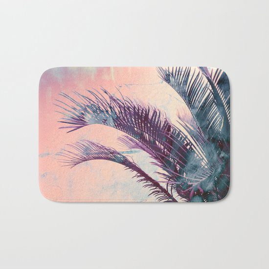 Candy Palms Bath Mat