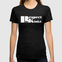 Respect the Kinks Natural Hair Positive Affirmation. T-shirt
