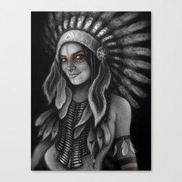 Tribe Girl Canvas Print