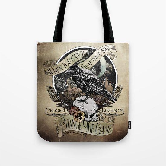 Crooked Kingdom - Change The Game Tote Bag