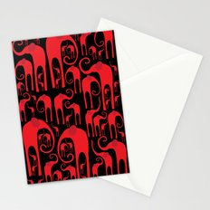 Elephant Herd Stationery Cards
