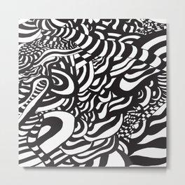 Op art series Metal Print