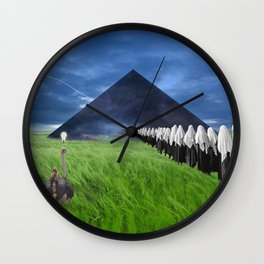Marinating In A Migraine Wall Clock