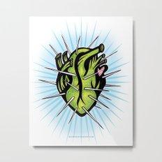 Corazon de Nopal // Dia Metal Print