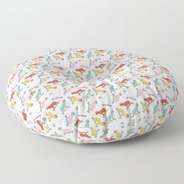 Cats and Confetti Floor Pillow