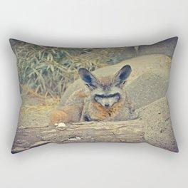 Bat Ears Rectangular Pillow