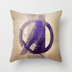 Avengers Assembled: The Ranger Throw Pillow