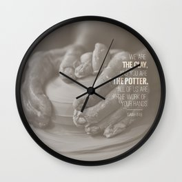 to the potters house Wall Clock