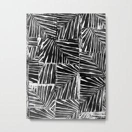 Leaf Print Metal Print