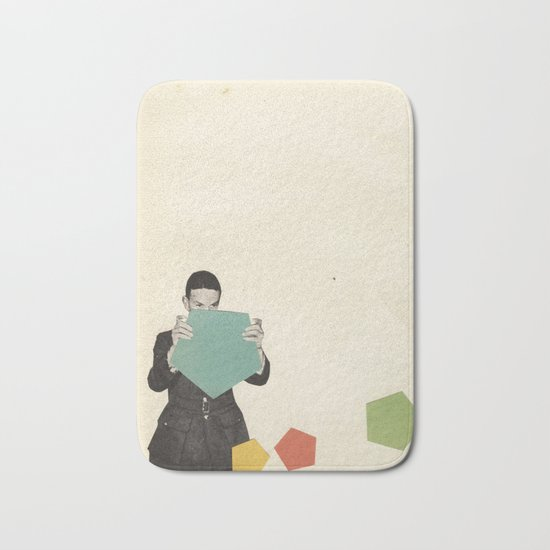 Discovering New Shapes Bath Mat