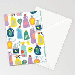 Cleaning Day Stationery Cards