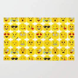 Emoji-Minifigure Rug