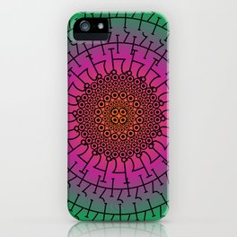 Alchemical Particle iPhone Case