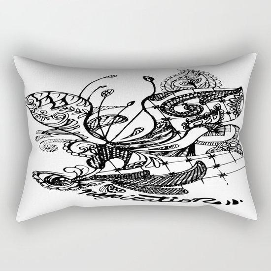 THE i Rectangular Pillow