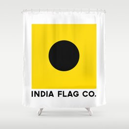 India Flag Co. Original Shower Curtain