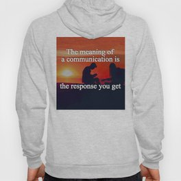 Meaning of a Communication Hoody