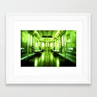 subway Framed Art Prints featuring Subway by Jacquie Fonseca
