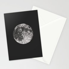 Abstract Full Moon Stationery Cards