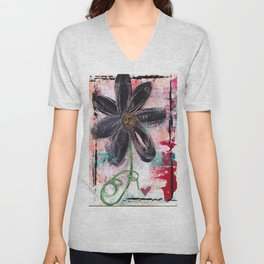 GARDEN OF WHIMSY 1 Unisex V-Neck