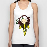 rogue Tank Tops featuring ROGUE by Space Bat designs