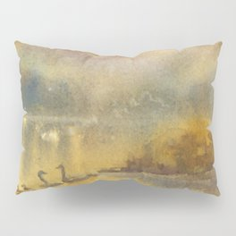 Golden Sunrise Pillow Sham
