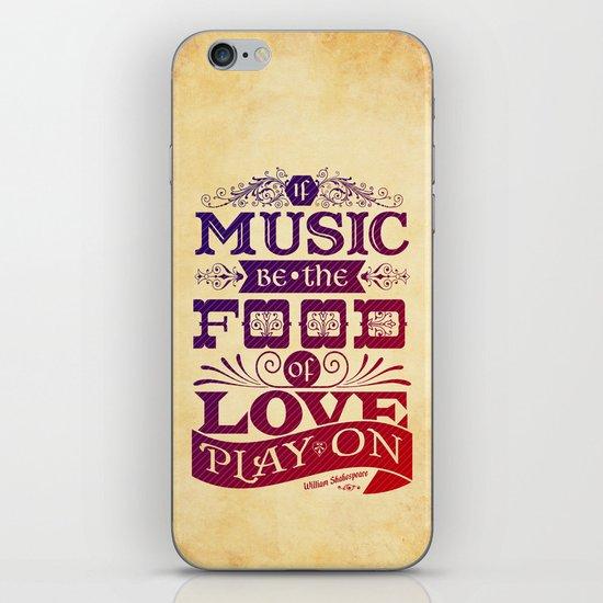 Food of Love  iPhone & iPod Skin