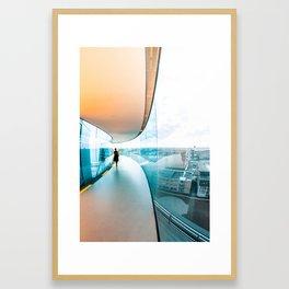 Walk on Air Framed Art Print