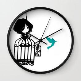 Colibri Cage Wall Clock