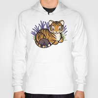 platypus Hoodies featuring Loafing Tiger, Hidden Platypus by Spoopy Surprise