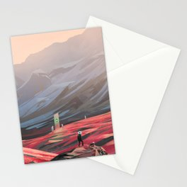 Alien Monolith Stationery Cards