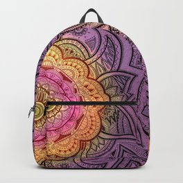 Colorful Mandala Backpack