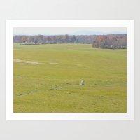 battlefield Art Prints featuring Gettysburg Battlefield by Scenic Sights by Tara