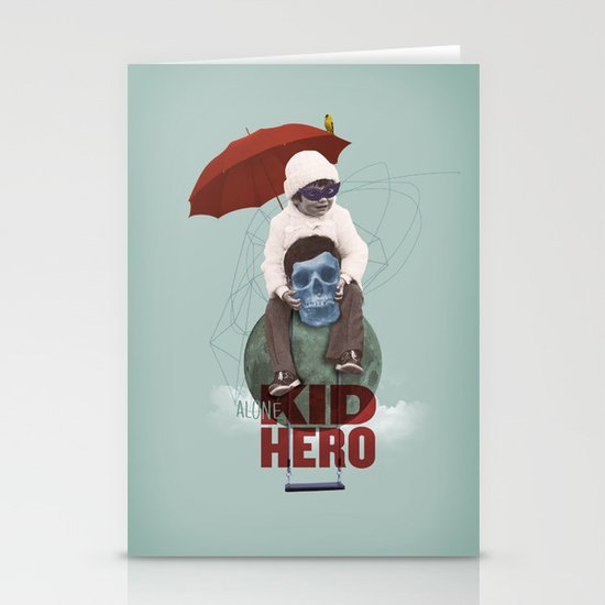 KID HERO Stationery Cards