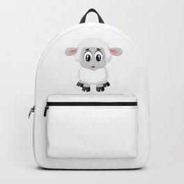 Cute Lamb Sheep Backpack