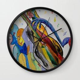 Musicians II Wall Clock