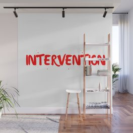 INTERVENTION Wall Mural