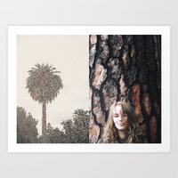 poetry Art Prints featuring Poetry by Linas Vaitonis