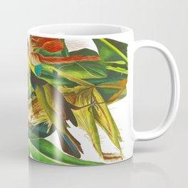 Purple Grakle, or Common Crow Blackbird Coffee Mug