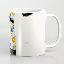 Standing Woman in a Patterned Blouse - Digital Remastered Edition Coffee Mug