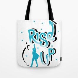 Rise Up - Hamilton Tote Bag