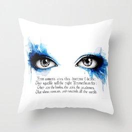 Promethean II Throw Pillow