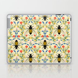 Bee Garden - Cream Laptop & iPad Skin