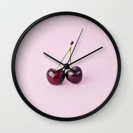 Juicy Twins Wall Clock