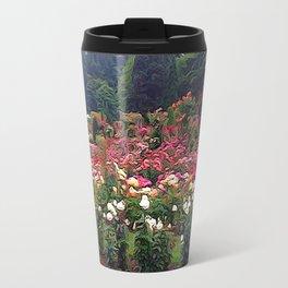 Impresion of a Rose Garden Travel Mug