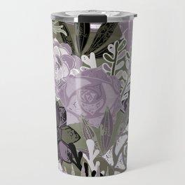 Succulents Art Travel Mug