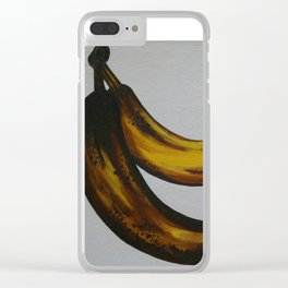 Rotting Bananas Clear iPhone Case