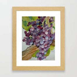 A Glass of Red wine Framed Art Print