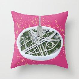 Spaghetti Junction Throw Pillow